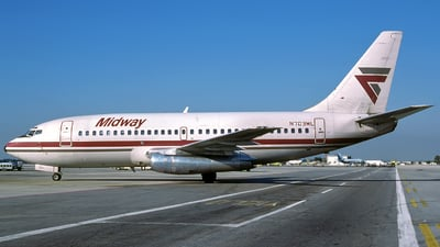 N703ML - Boeing 737-2T4(Adv) - Midway Airlines