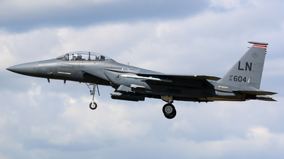 91-0604 - McDonnell Douglas F-15E Strike Eagle - United States - US Air Force (USAF)