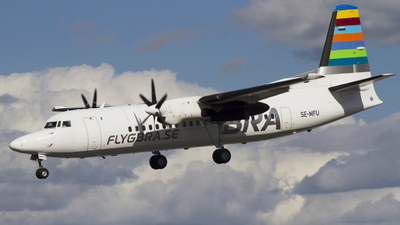 A picture of SEMFU - Fokker 50 - Amapola Flyg - © Rafael Zisser