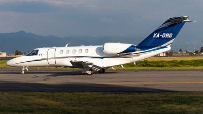 XA-DRG - Cessna 525 Citationjet CJ4 - Private