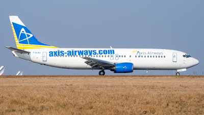F-GLXQ - Boeing 737-4Y0 - New Axis Airways