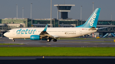 TC-TJJ - Boeing 737-8S3 - Corendon Airlines