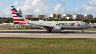 A picture of N832NN - Boeing 737823 - American Airlines - © John Marzo