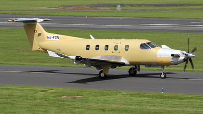 A picture of HBFSN - Pilatus PC12 /47E - [1803] - © Ian Howat