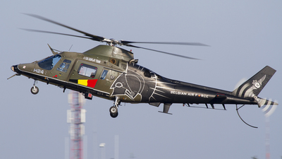 H24 - Agusta 109HO - Belgium - Air Force