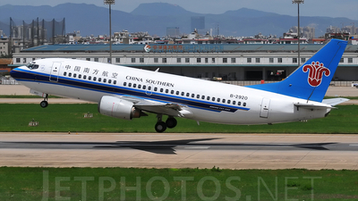 B-2920 - Boeing 737-3Q8 - China Southern Airlines