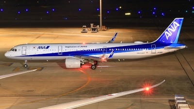 A picture of JA132A - Airbus A321272N - All Nippon Airways - © Kei -Danadinho AviãoSpotter-