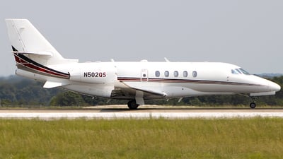 N502QS - Cessna Citation Latitude - NetJets Aviation