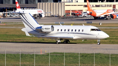 EJ-ROXY - Bombardier CL-600-2B16 Challenger 605 - Private