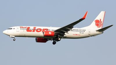 HS-LUI - Boeing 737-8GP - Thai Lion Air