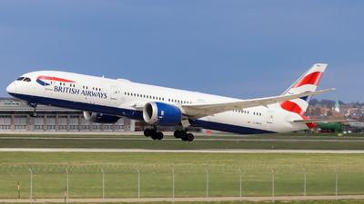 A picture of GZBKB - Boeing 7879 Dreamliner - British Airways - © Justin Stöckel