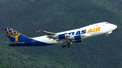 N475MC - Boeing 747-47UF(SCD) - Atlas Air