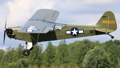 HB-OUN - Piper J-3C-65 Cub - Private