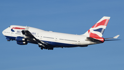 G-CIVS - Boeing 747-436 - British Airways