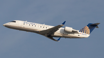 A picture of N881AS - Mitsubishi CRJ200LR - United Airlines - © Luke Dogan