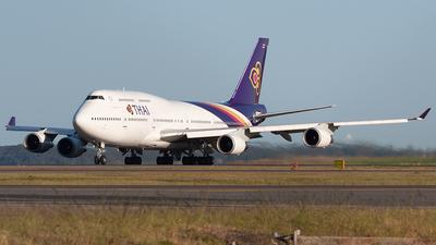 HS-TGJ - Boeing 747-4D7 - Thai Airways International