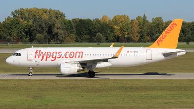 TC-DCH - Airbus A320-216 - Pegasus Airlines