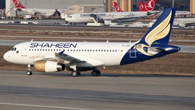 TC-JUD - Airbus A319-132 - Shaheen Air International