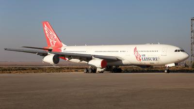 A picture of SUGBM - Airbus A340212 - [0156] - © Firat Cimenli