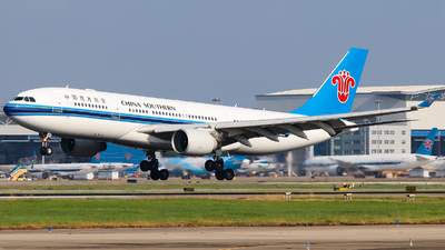 A picture of B6542 - Airbus A330223 - China Southern Airlines - © AGUIJUN-Lei
