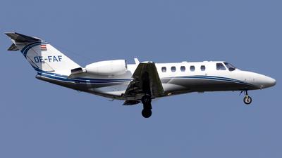 OE-FAF - Cessna 525 Citationjet CJ2 - Private