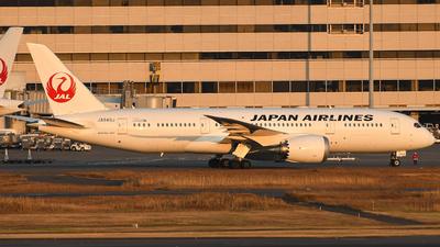 A picture of JA849J - Boeing 7878 Dreamliner - Japan Airlines - © Moro_HNDspotter