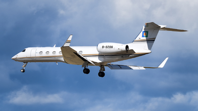 B-8288 - Gulfstream G550 - Private