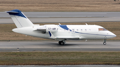 T7-AIR - Bombardier CL-600-2B16 Challenger 650 - Avcon Jet