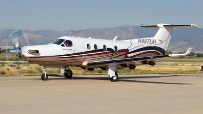 N487LM - Pilatus PC-12/45 - Private