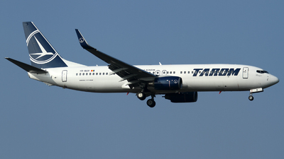 YR-BGR - Boeing 737-86J - Tarom - Romanian Air Transport