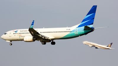 PK-GMD - Boeing 737-8U3 - Garuda Indonesia