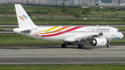 B-323P - Airbus A320-251N - Colorful Guizhou Airlines
