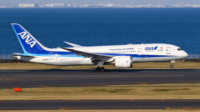 A picture of JA825A - Boeing 7878 Dreamliner - All Nippon Airways - © Seo Masuda