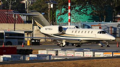 N770CJ - Cessna 750 Citation X - Private