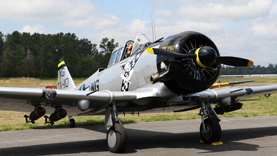 N190FS - North American AT-6D Texan - Private