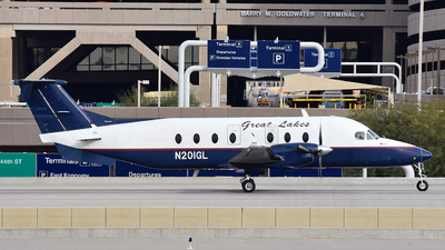 N201GL - Beech 1900D - Great Lakes Airlines