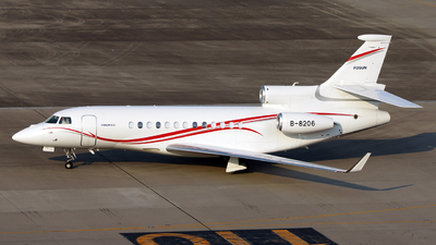 B-8206 - Dassault Falcon 7X - Asia United Business Aviation