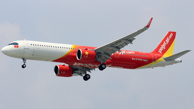 A picture of VNA534 - Airbus A321271NX - VietJet Air - © Toanla_SFAP