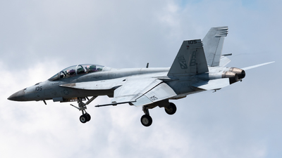 166610 - Boeing F/A-18F Super Hornet - United States - US Navy (USN)