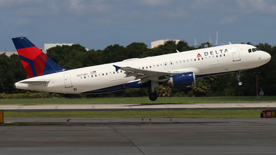 A picture of N375NC - Airbus A320212 - Delta Air Lines - © James Bruno