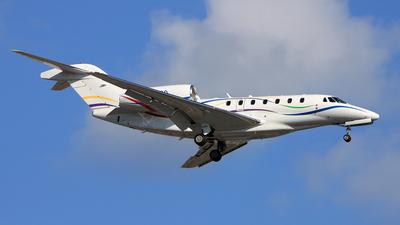 N7600G - Cessna 750 Citation X - SAS Institute