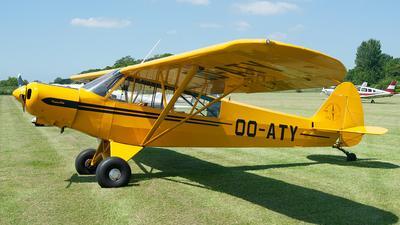 OO-ATY - Piper PA-18-105 Super Cub - Aero Club - Brasschaat