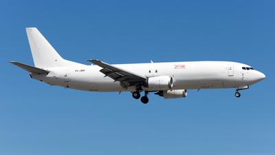 A picture of P4JMD - Boeing 73745D(SF) - Aviation Horizons - © Alvin Ho - AHKGAP