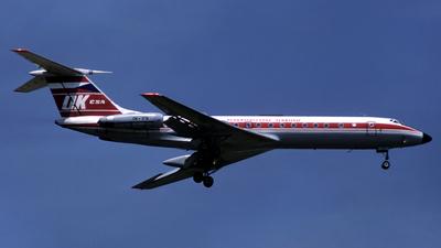 OK-IFN - Tupolev Tu-134A - CSA Ceskoslovenske Aerolinie