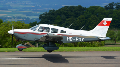 HB-POX - Piper PA-28-181 Archer II - Albis Wings