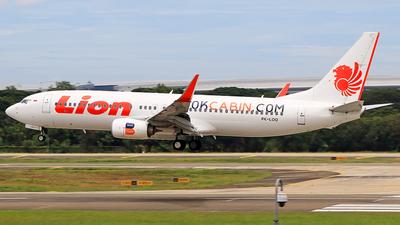 PK-LOO - Boeing 737-8GP - Lion Air