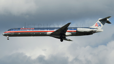 N573AA - McDonnell Douglas MD-82 - American Airlines