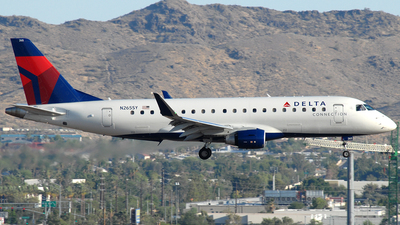 A picture of N265SY - Embraer E175LR - Delta Air Lines - © Jason Whitebird