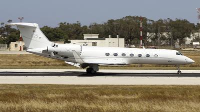 102005 - Gulfstream G-V Tp102D - Sweden - Air Force
