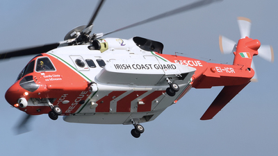 EI-ICR - Sikorsky S-92A Helibus - Ireland - Coast Guard